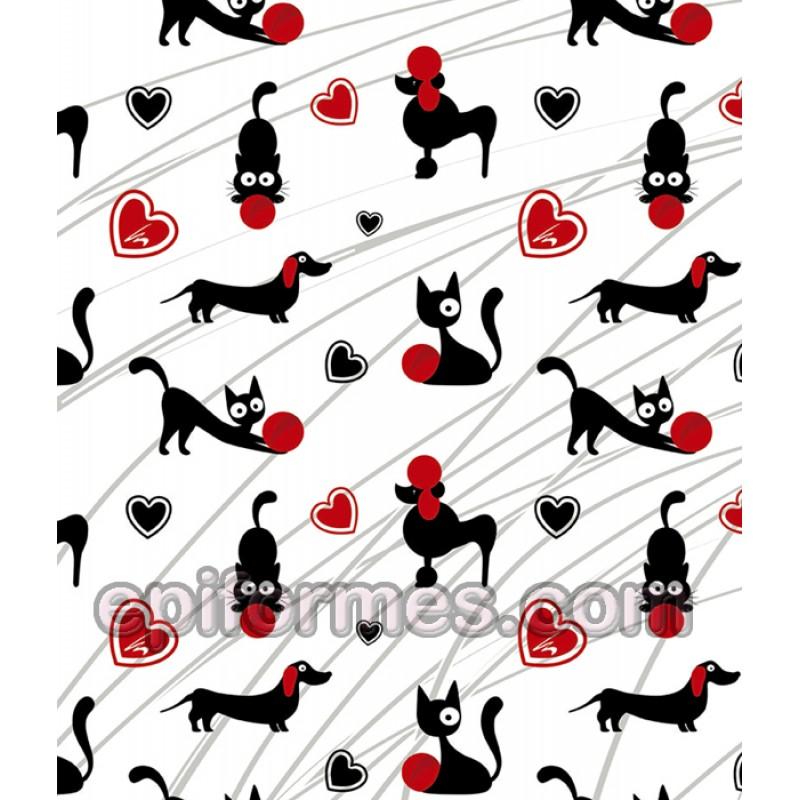 Gorro cirujano perros y gatos pelo largo