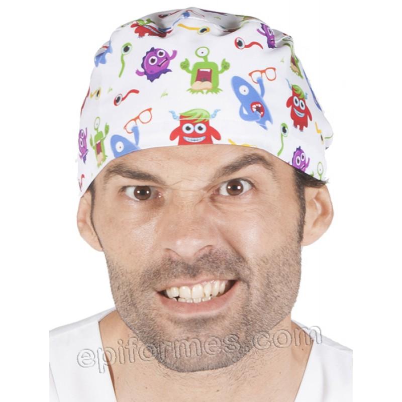 Gorro cirujano globos pelo corto