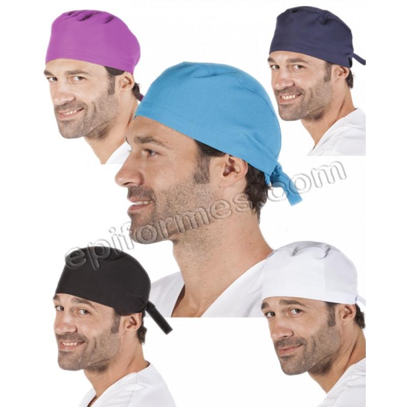 Gorro cirujano pelo corto MICROFIBRA 9 colores