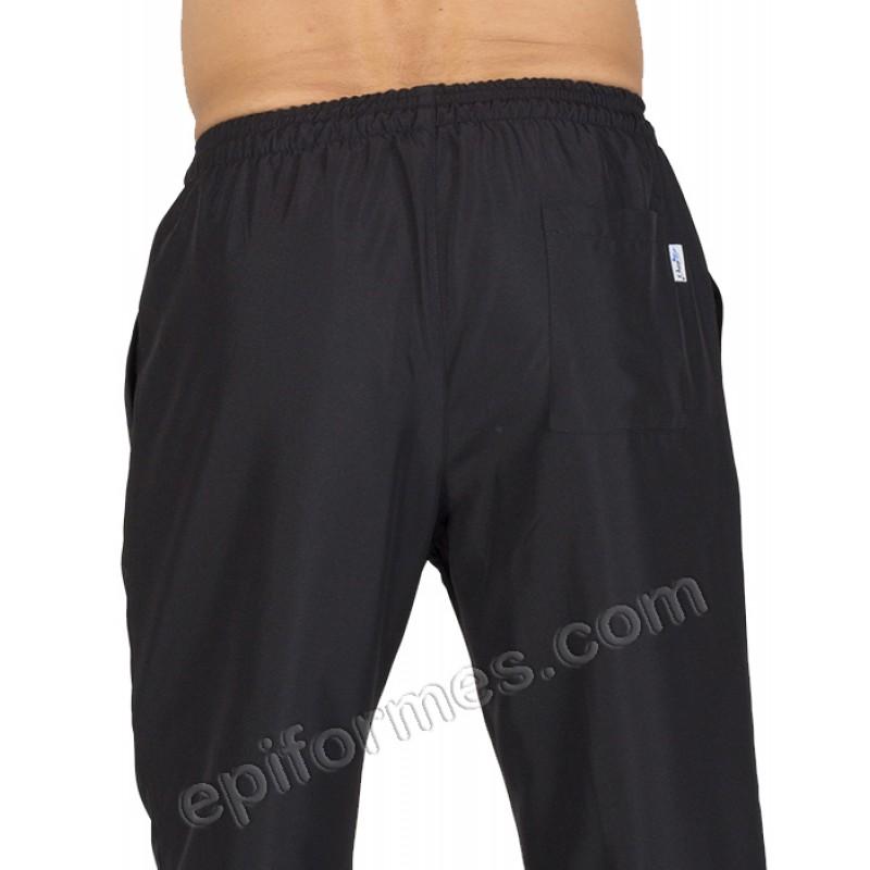 Pantalón  MICROFIBRA negro talla especial