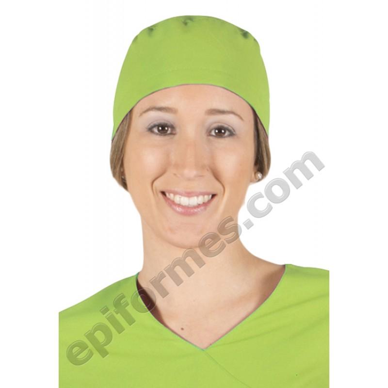 Gorro cirujano pelo largo MICROFIBRA 9 colores