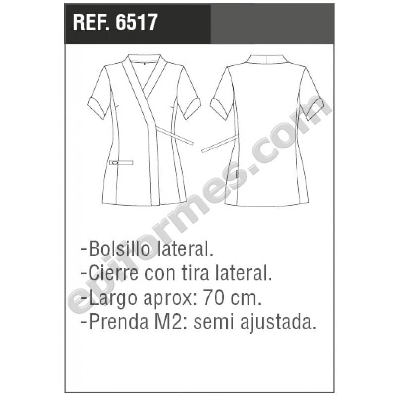 Blusa señora Cíes en blanca o negra