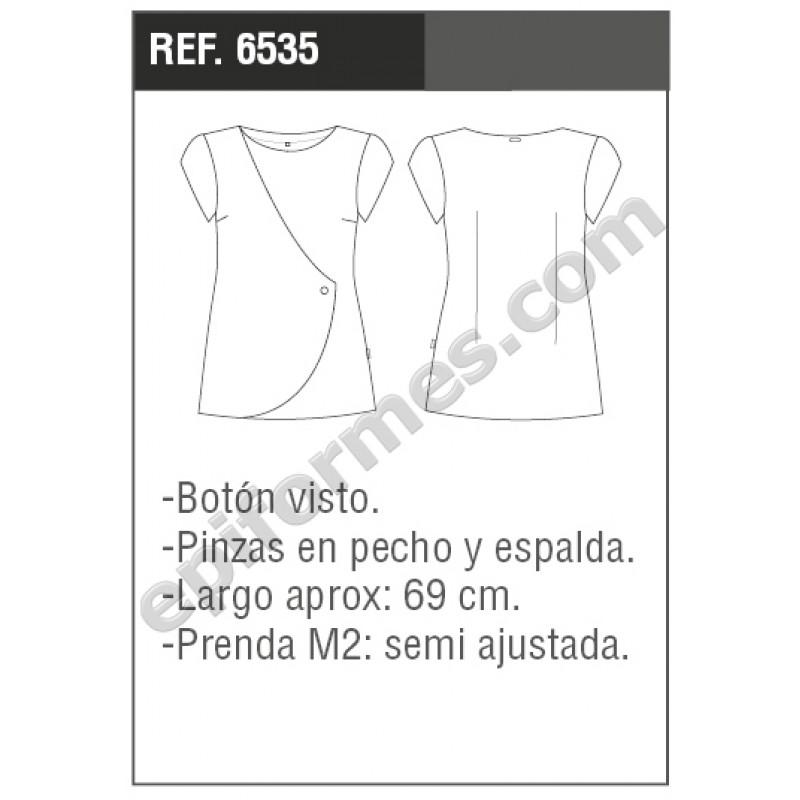 Blusa señora Formentera en blanco o negro