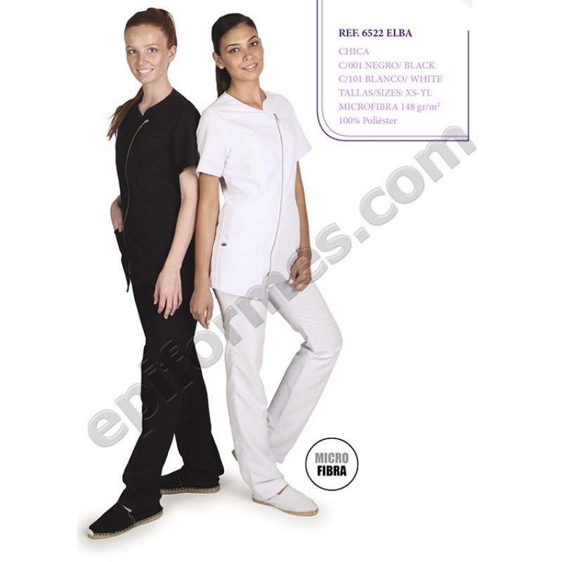 Blusa señora Elba en blanca o negra