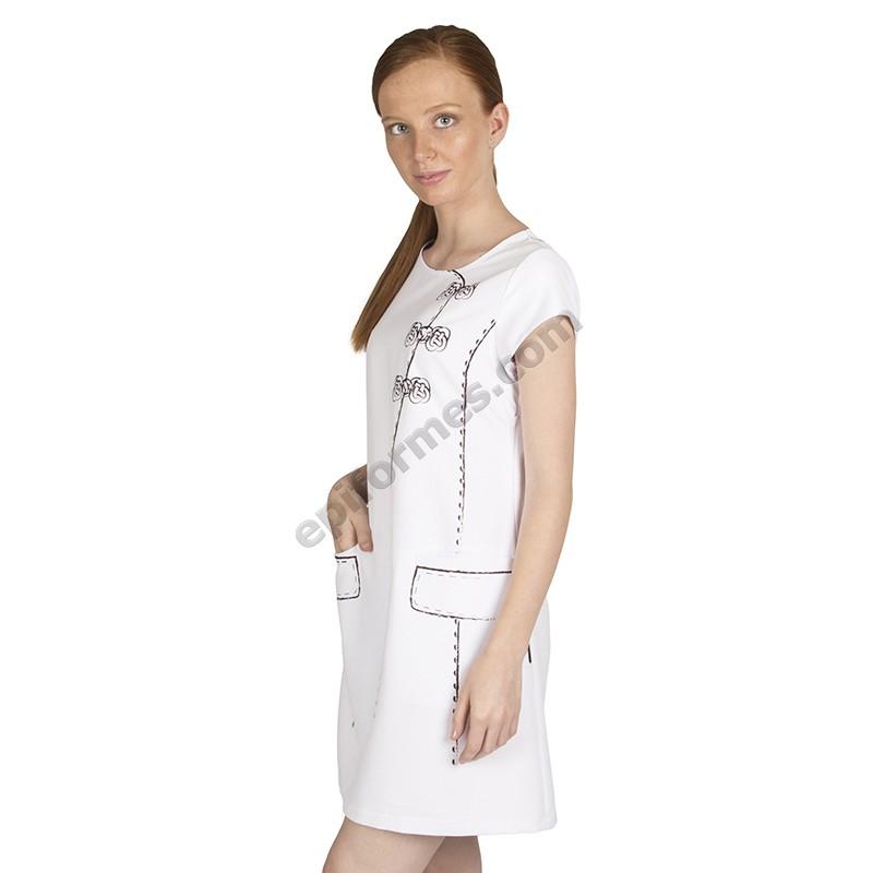 Vestido señora Capri estampado