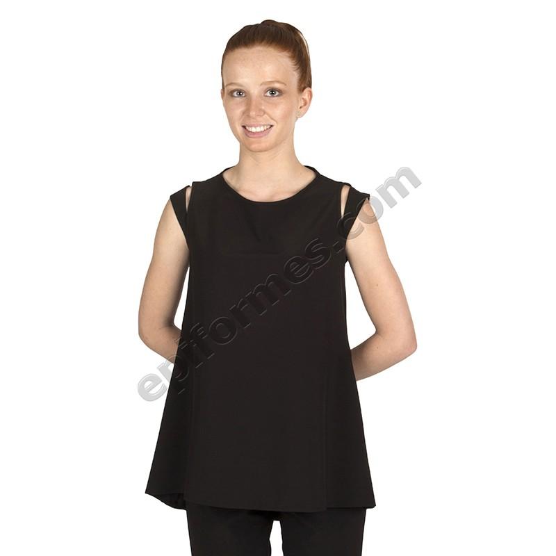 Blusa señora Ibiza en Negra o Blanca