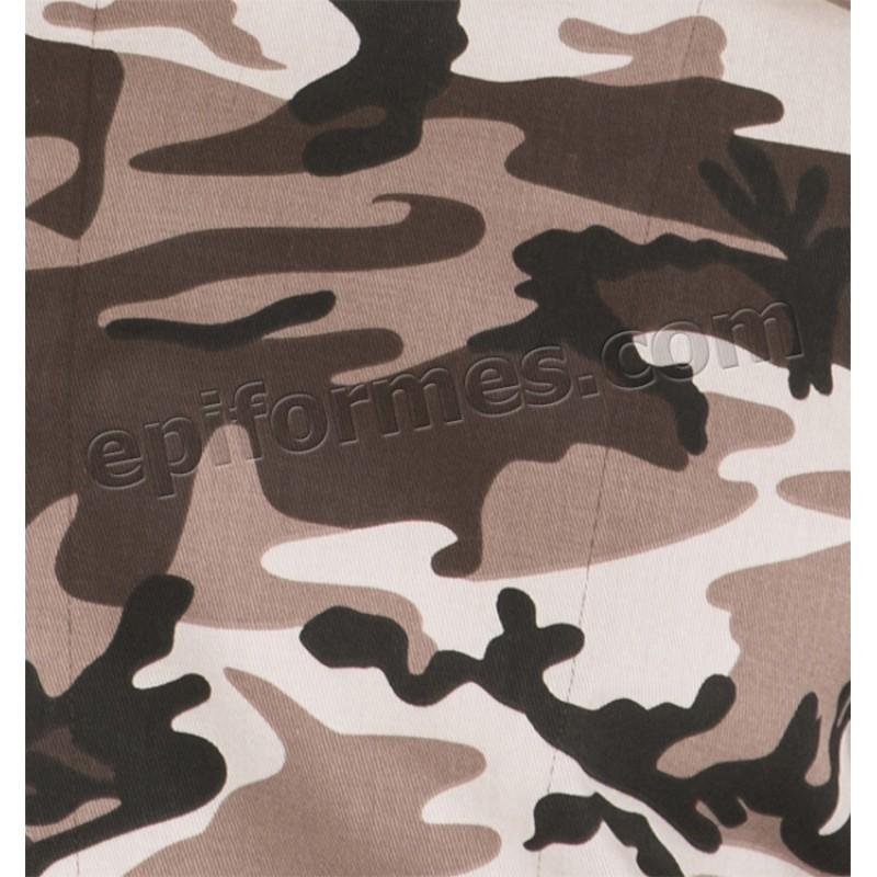 Chaqueta cocinero estampado camuflage