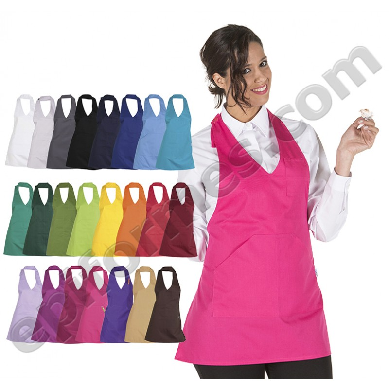 Delantal Bistro (Muy Vendido) 24 colores
