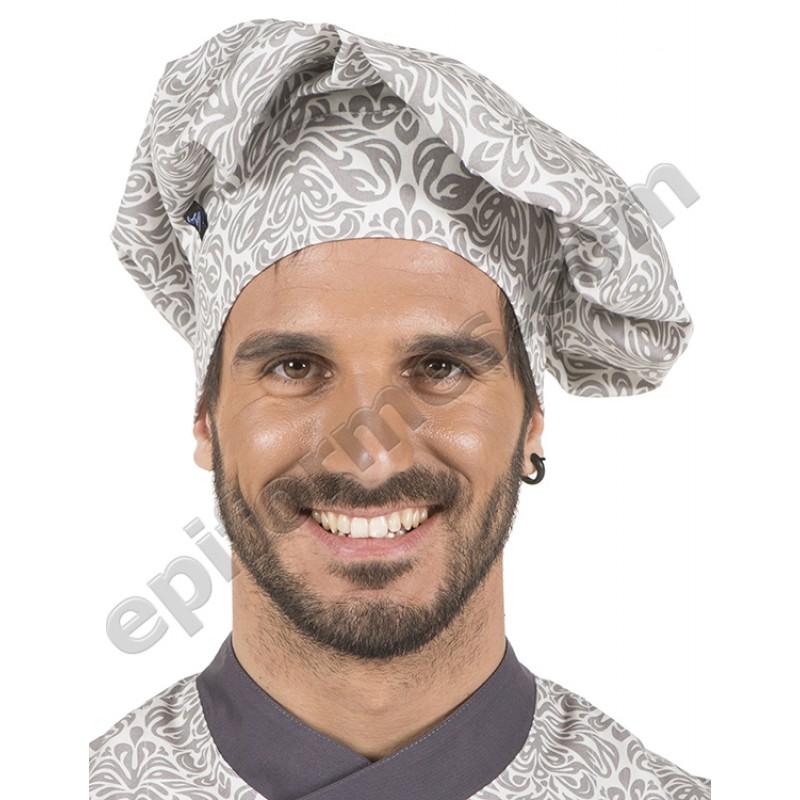 Gorro chef de cocina JACQUARD