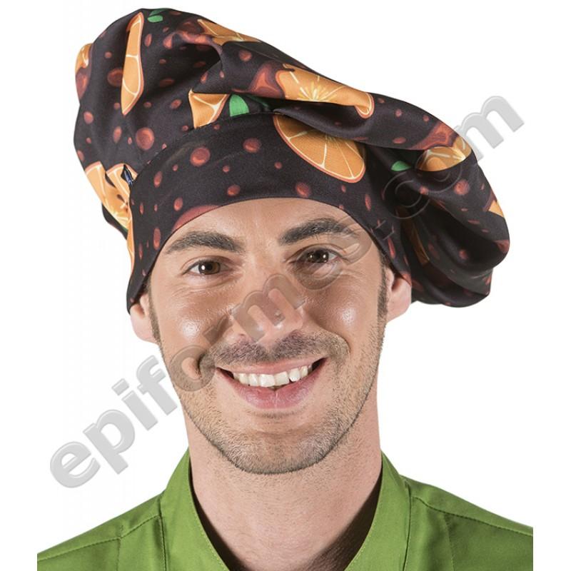 Gorro chef de cocina NARANJAS