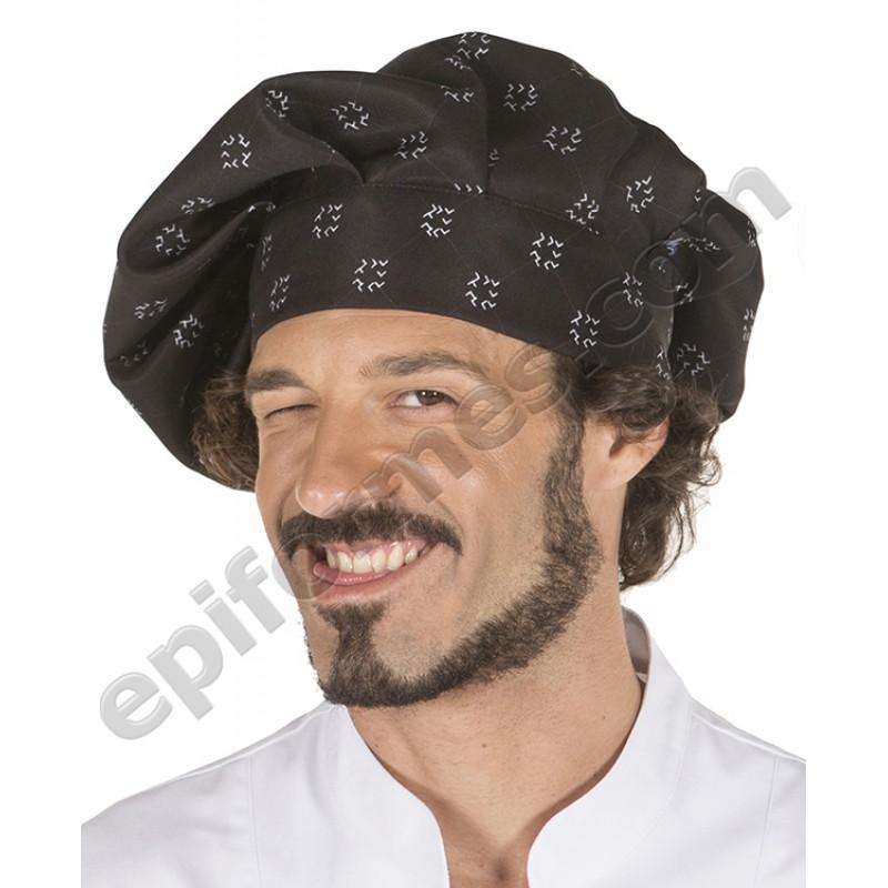Gorro chef de cocina TAPIZ