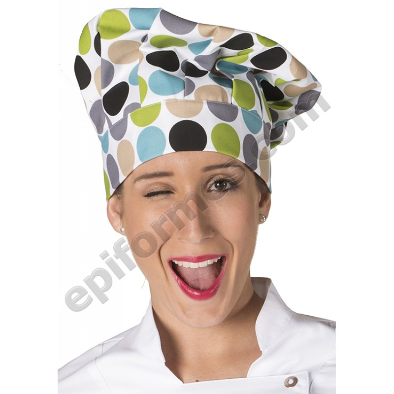 Gorro chef de cocina LUNARES