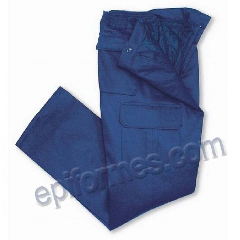 Pantalon  De Trabajo Forrado Antifrio