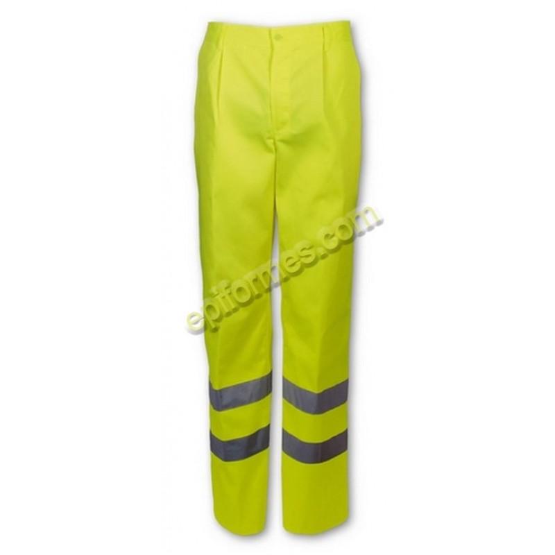 Pantalon De Trabajo  De Alta Visibilidad