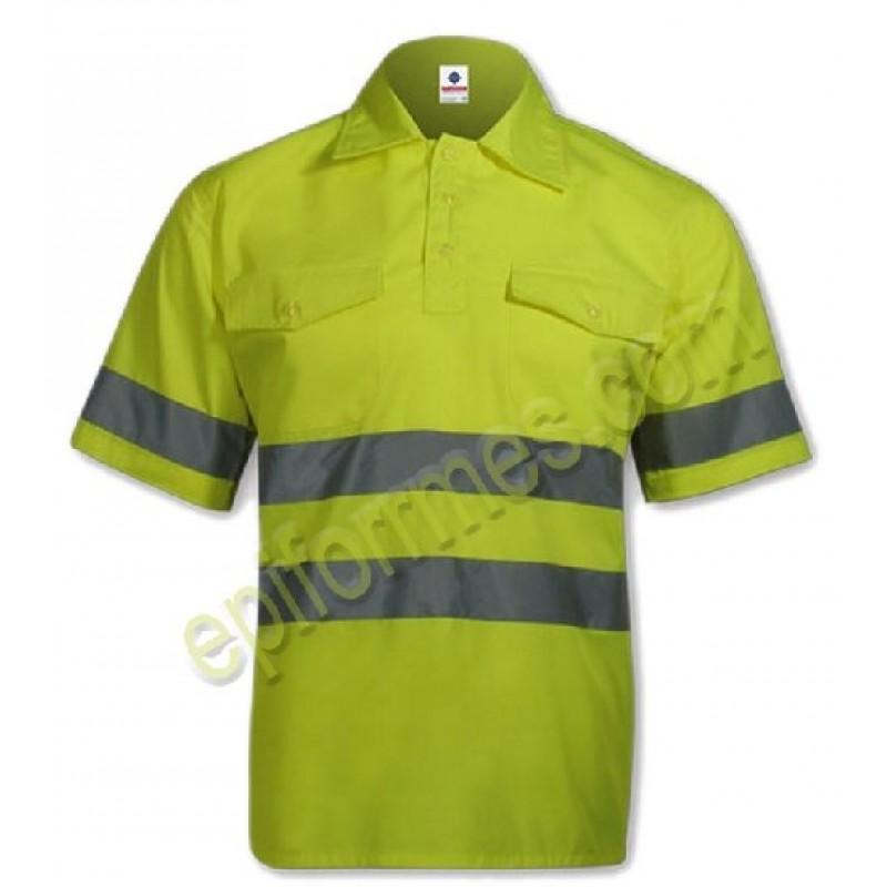 Camisa  De Trabajo Alta Visibilidad
