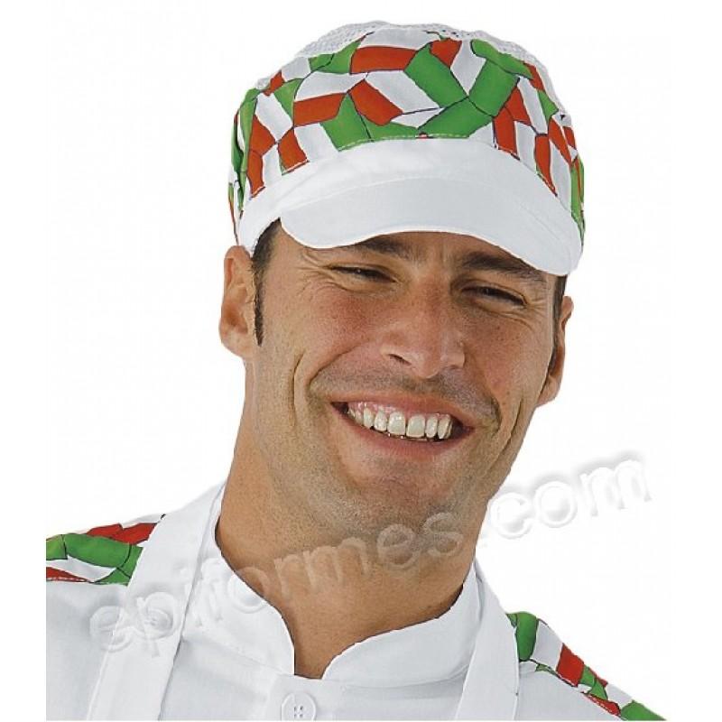 Gorra Con Visera Bandera Italiana
