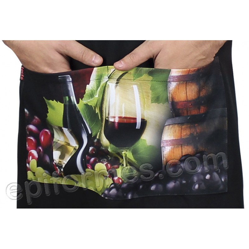 Delantal vinos