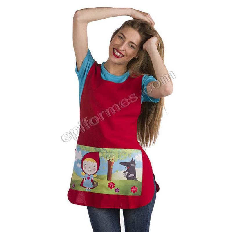 Estola Caperucita en bolsillo