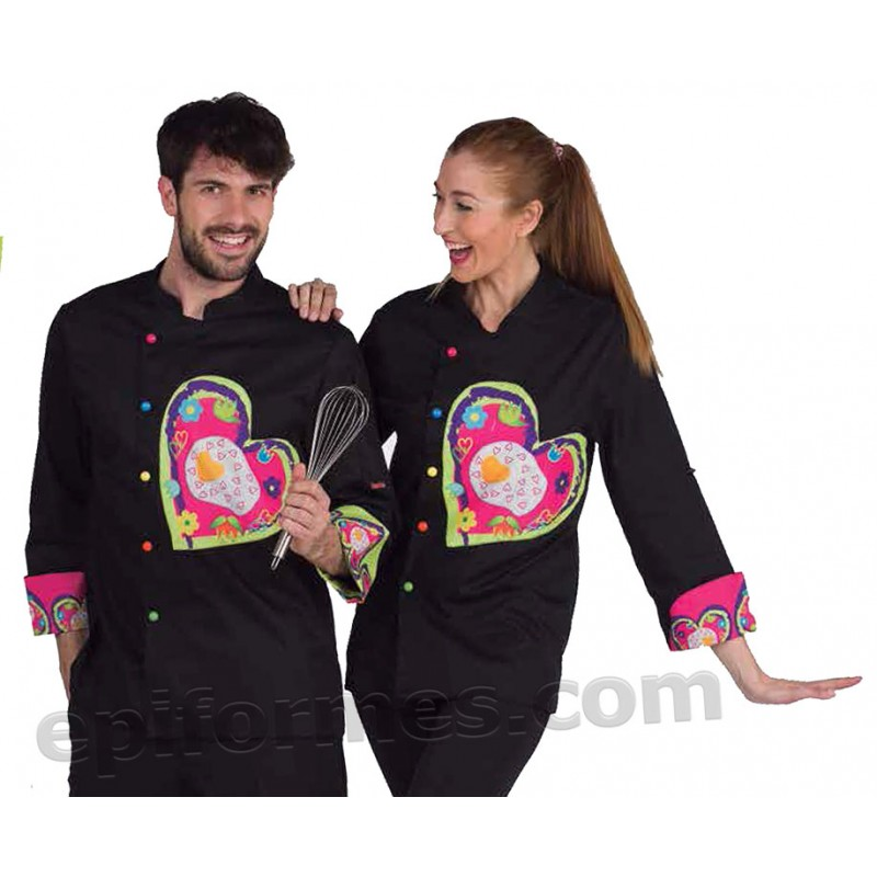 Chaqueta cocinero Fried heart