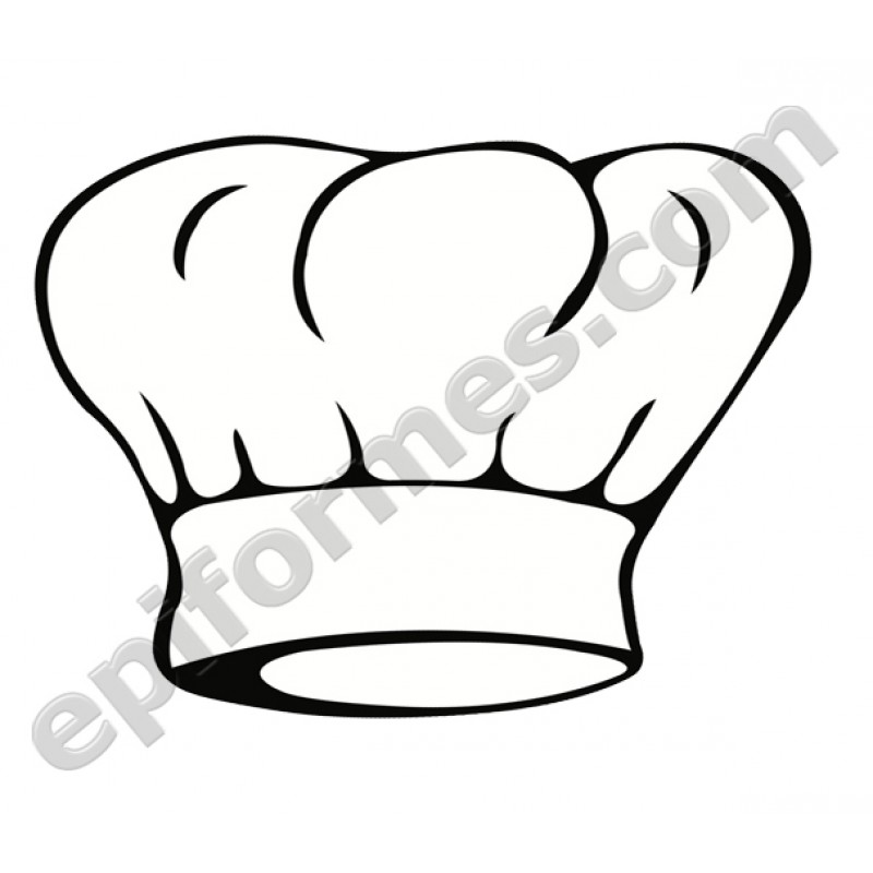 Gorro chef de emoticonos