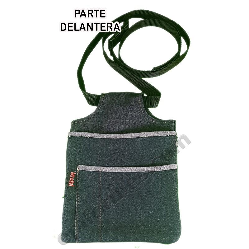 Funda con  cremallera interior +cinturón