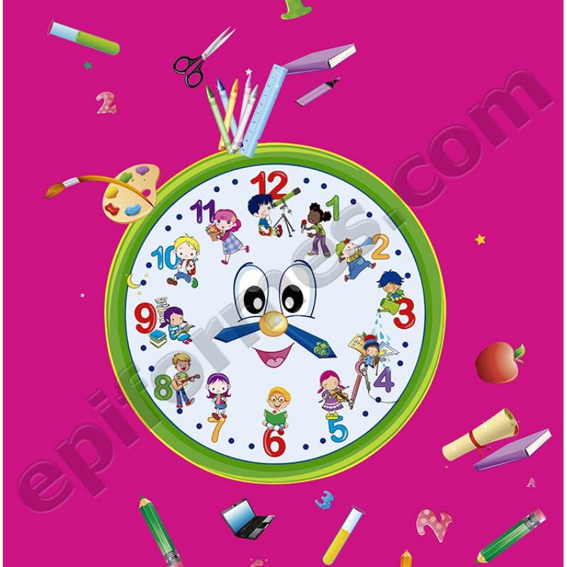 Babi maestra infantil modelo reloj