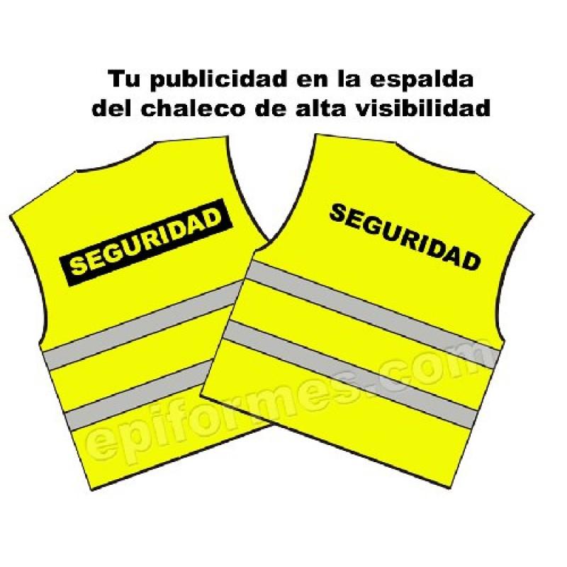 Personalizacion De Chaleco Alta Visibilidad