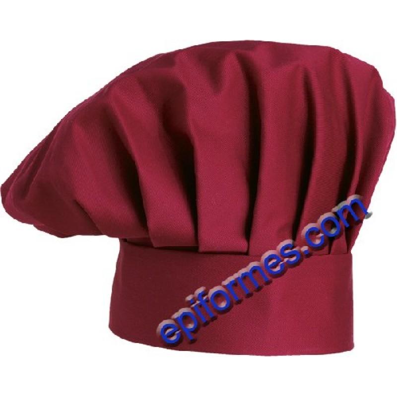 Gorro Cocina Burdeos