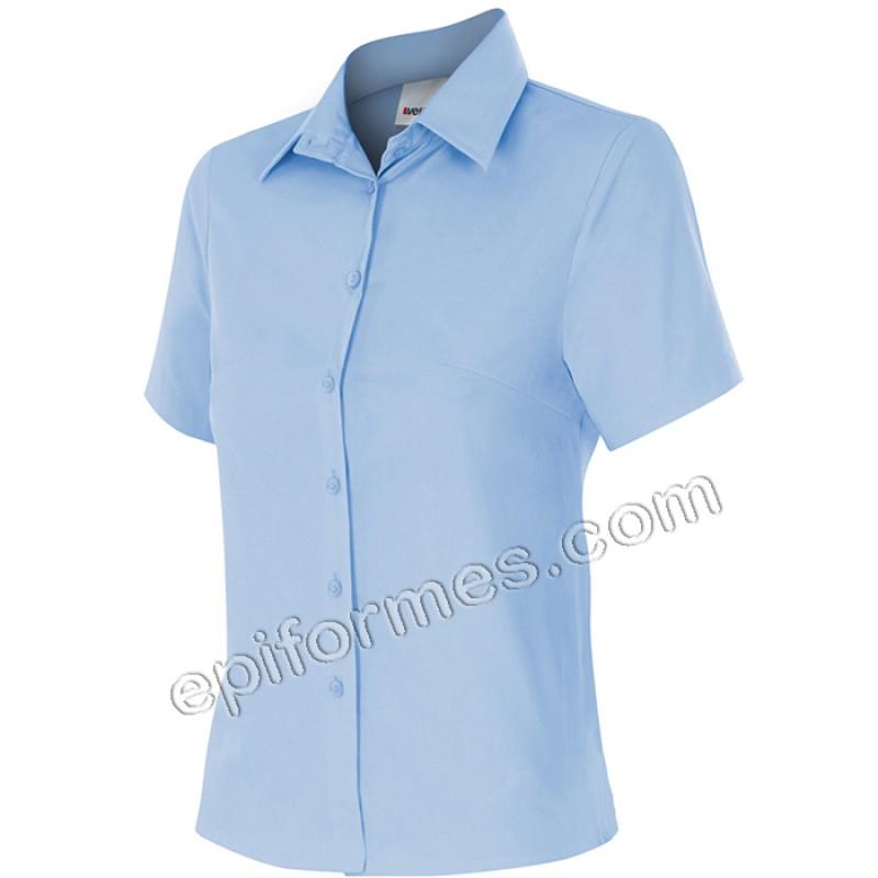 Camisa mujer manga corta en 3 colores