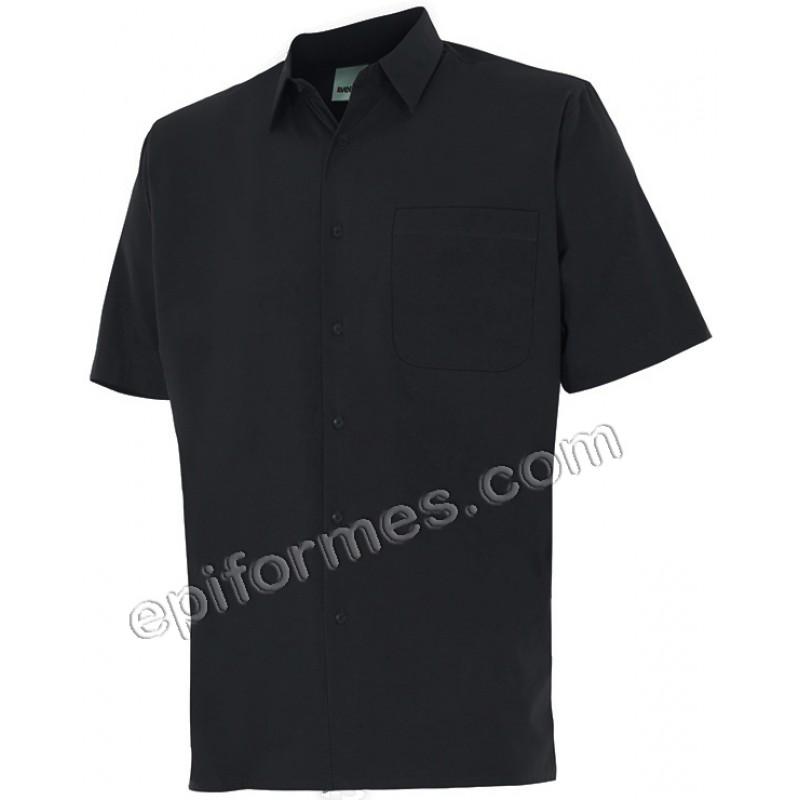 Camisa caballero manga corta en 2 colores