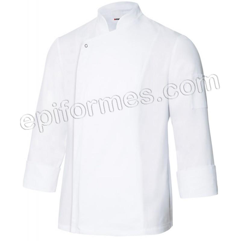 Chaqueta cocinero tejido transpirable