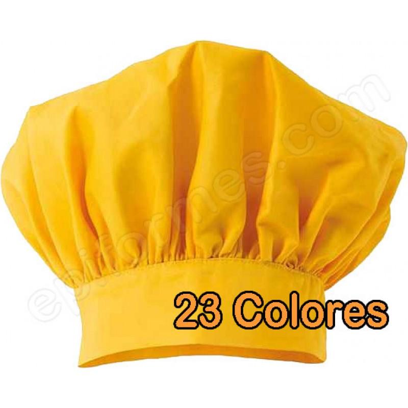 Gorro chef 23 colores