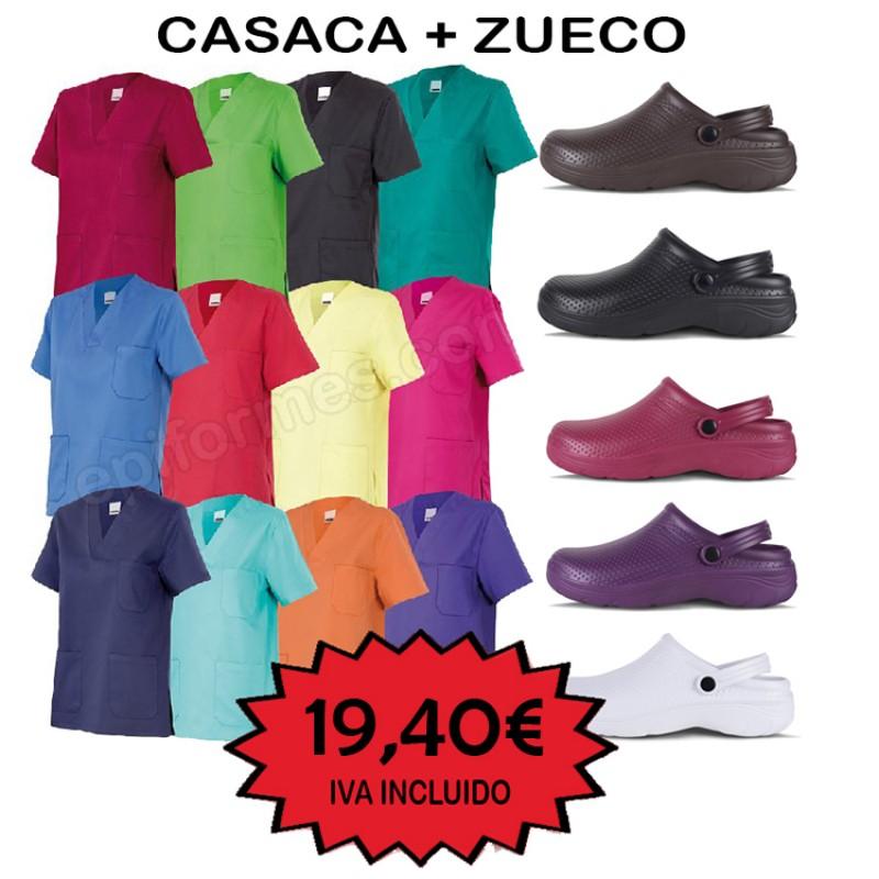 OFERTA Casaca + zueco