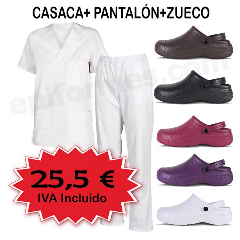 Pijama sanitario  Completo + Zueco