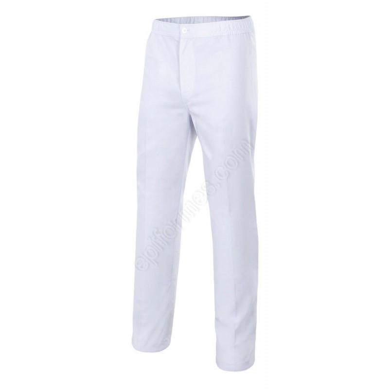 Pantalon Con Cremallera Y Botón