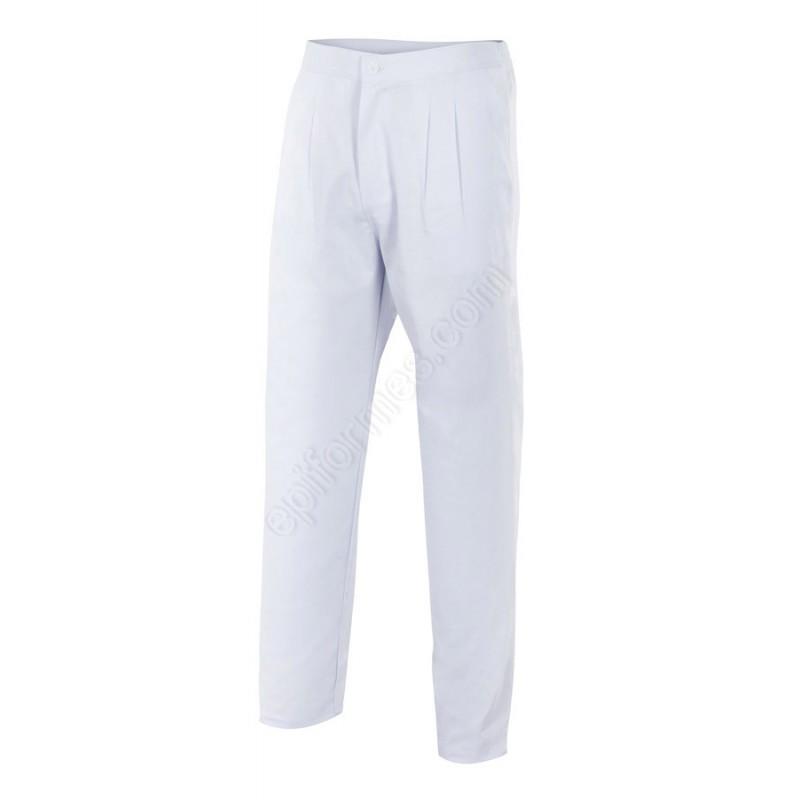 Pantalon Pinzas Y Botón