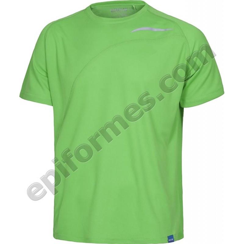 Camiseta técnica sin bolsillo