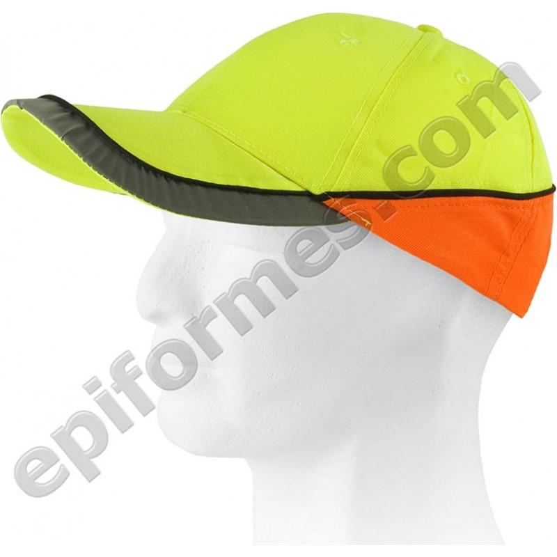 Gorra alta visibilidad con visera