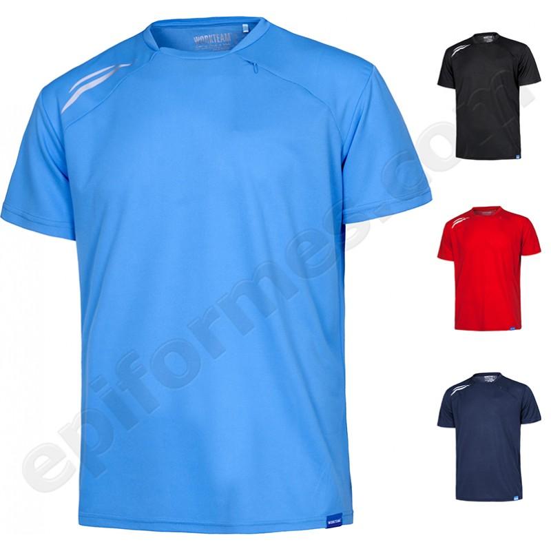 Camiseta técnica con bolsillo
