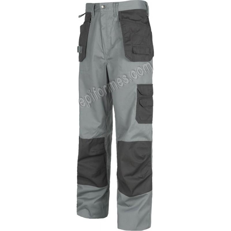 Pantalon De Trabajo Bicolor