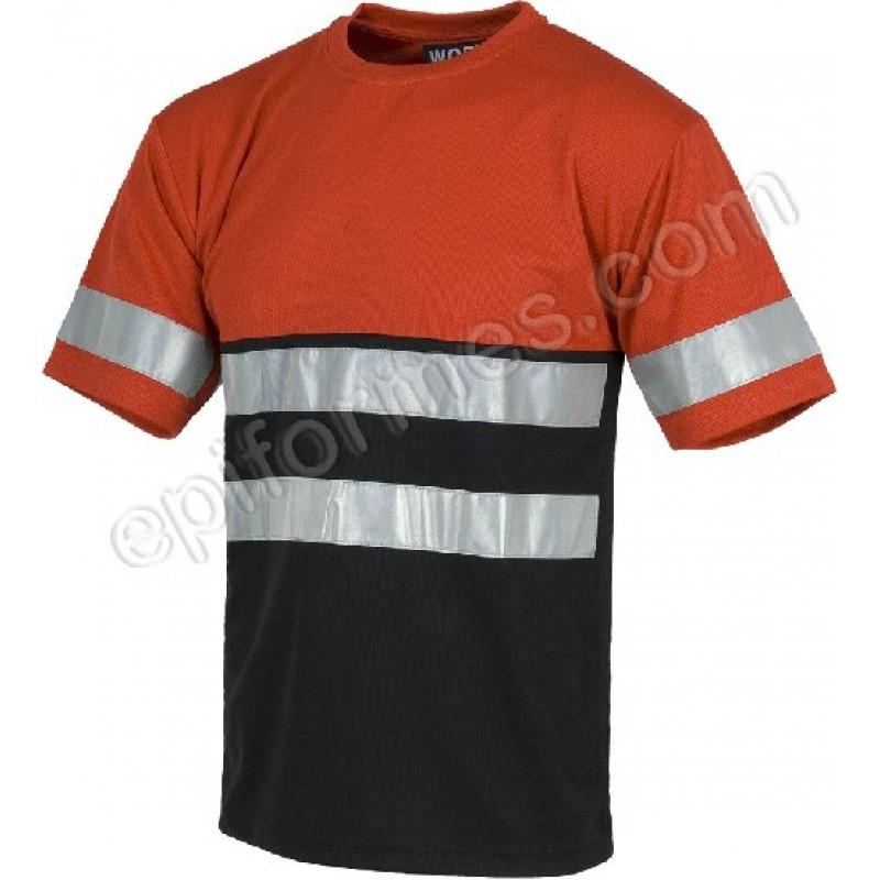 Camiseta Banda Reflectantes (100% Poliester)