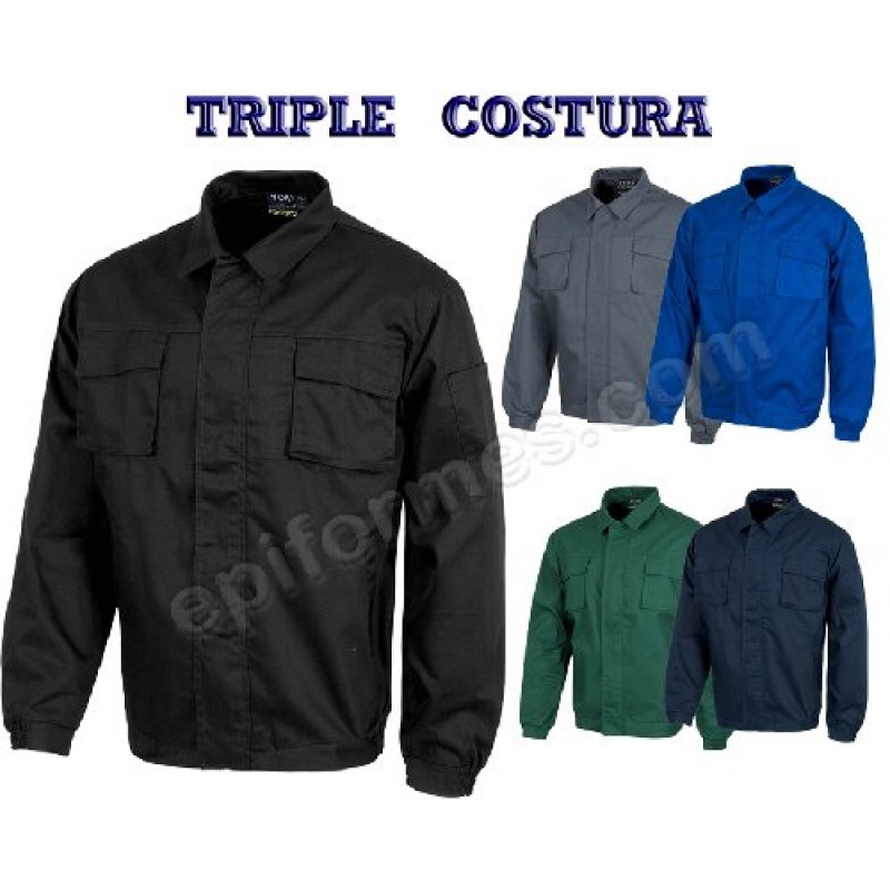 Cazadora Basica Triple Costura