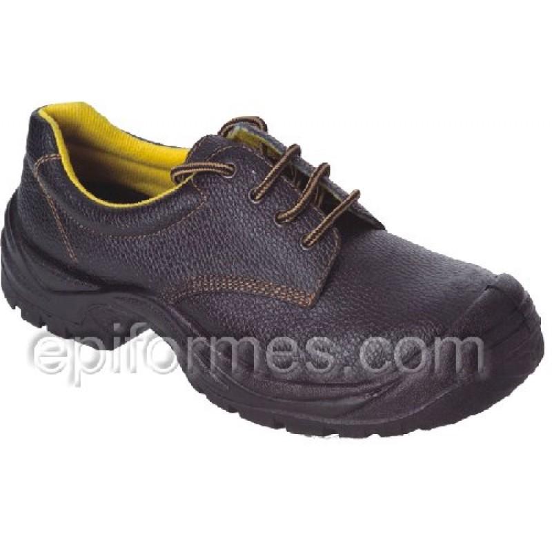 Zapato De Seguridad De Piel Hidrofugada