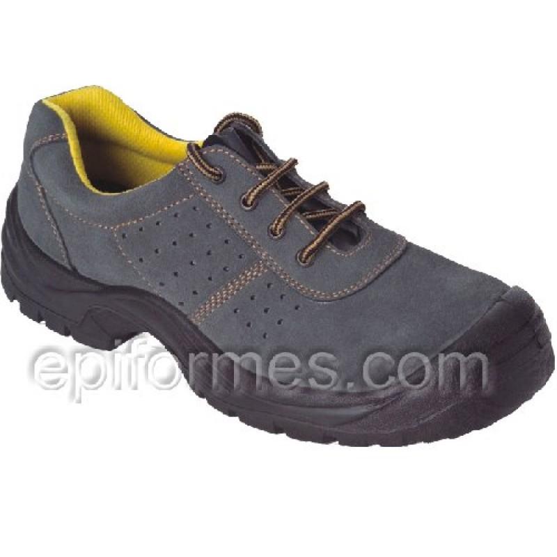 Zapato  De Seguridad De Serraje