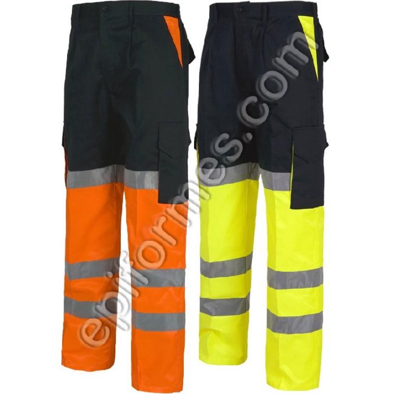 Pantalon De Trabajo Alta Visibilidad.