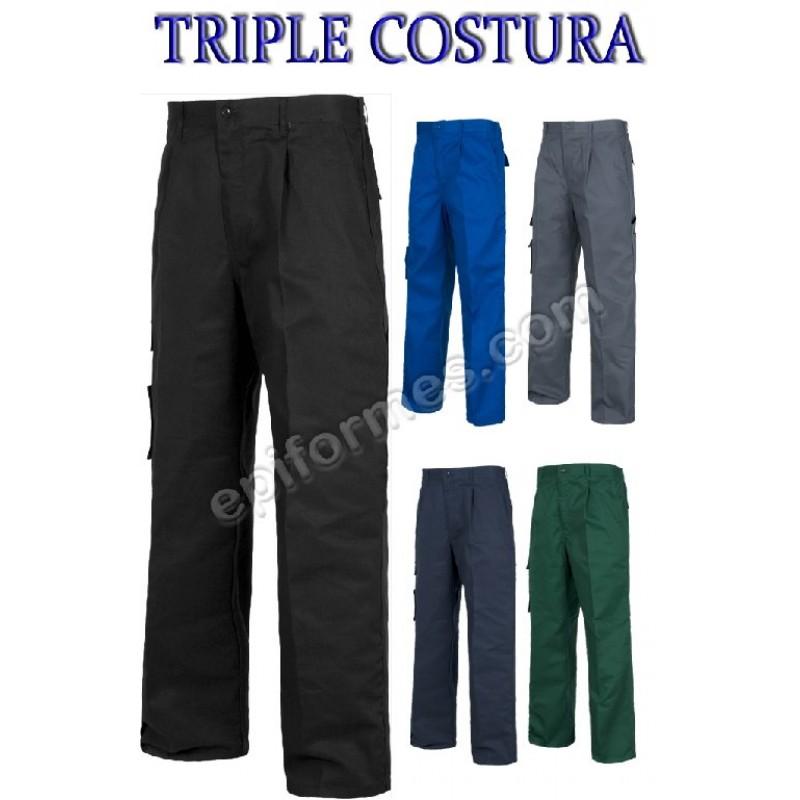 Pantalon Básico Triple Costura
