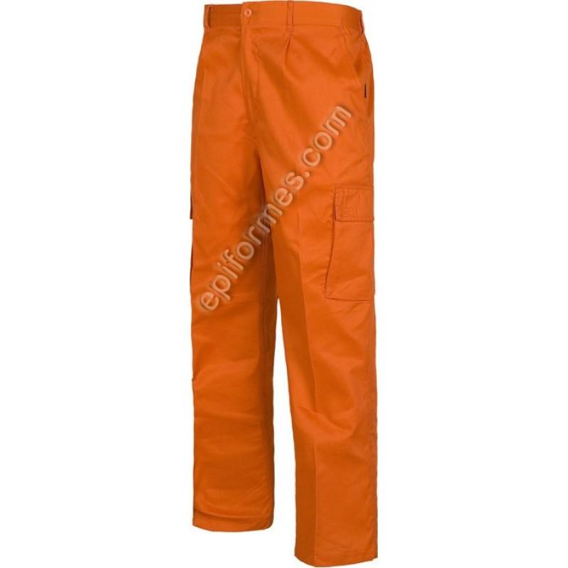 Pantalon De Trabajo Standar Multibolsillo