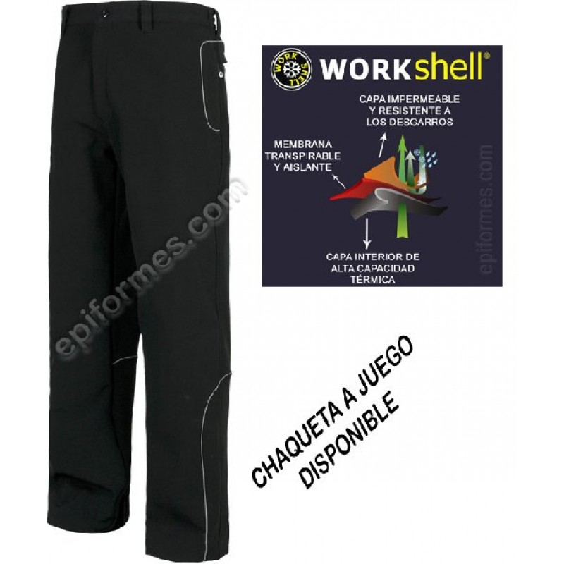 Pantalon De Trabajo Workshell
