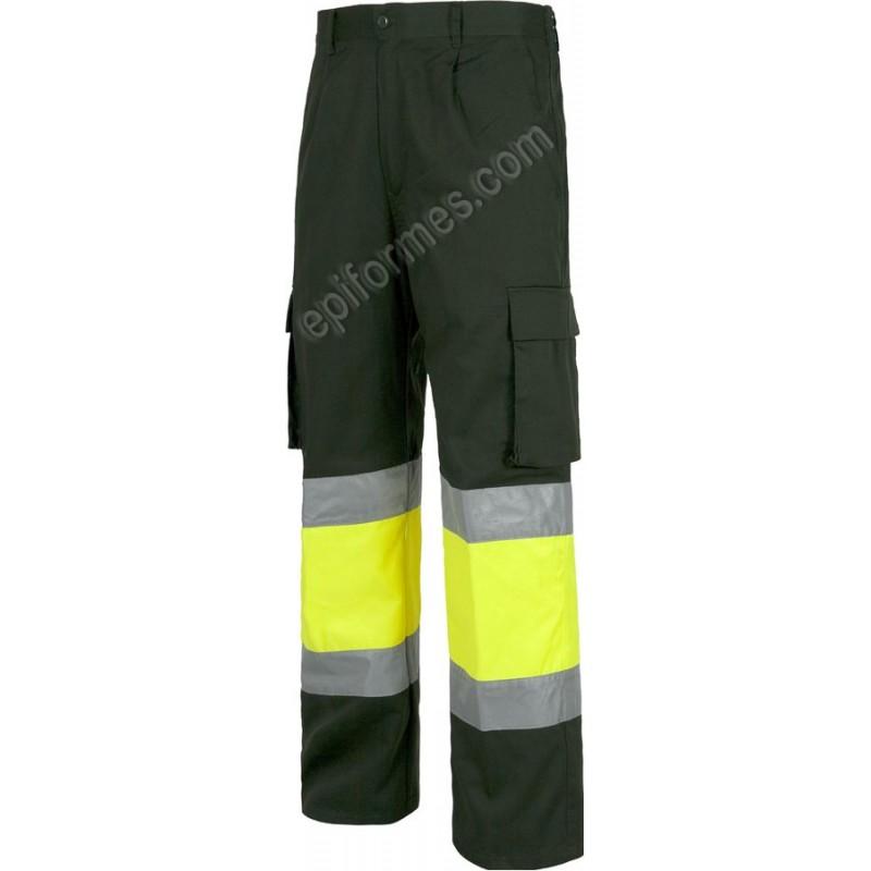 Pantalón Alta Visibilidad Combinada