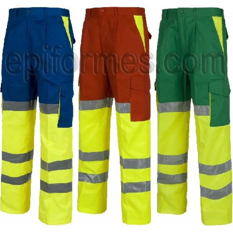 Pantalon De Trabajo Alta Visibilidad,